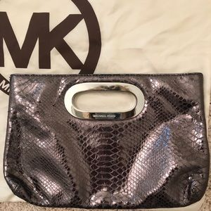 Michael Kor's Metallic Clutch